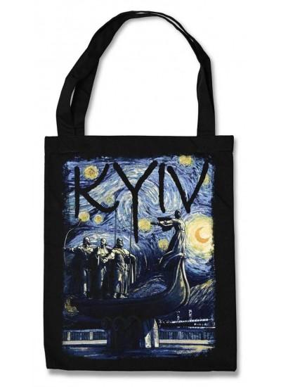 Эко-сумка Ван Гог Звёздная ночь в Киеве (KYIV)