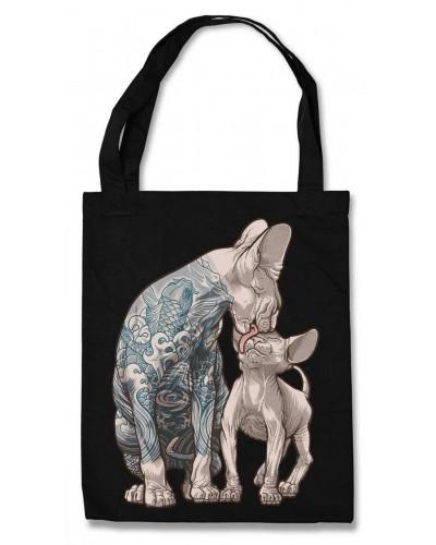 Эко-сумка Tattoo Cats