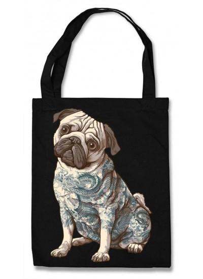 Эко-сумка Tattoo Pug