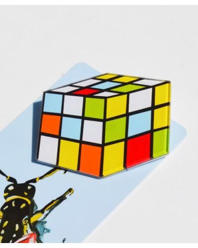 Пластиковый значок Rubik
