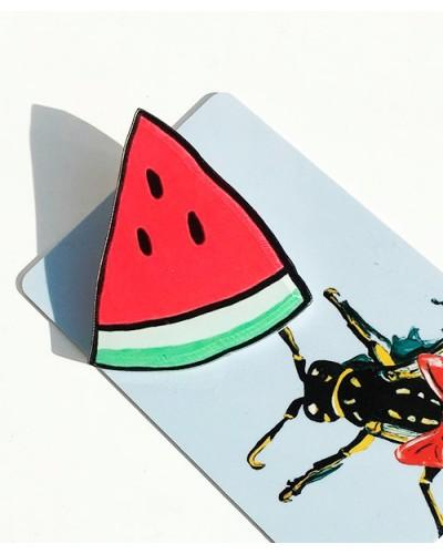 Пластиковый значок Watermelon