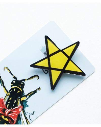 Пластиковый значок Star