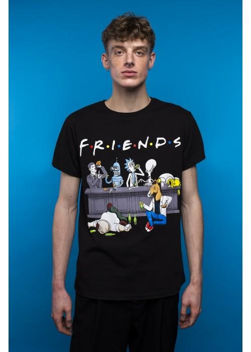 Футболка Friends Cartoons