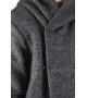 Теплая шерстяная мантия (пальто)