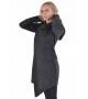 Теплая шерстяная мантия (пальто) unisex