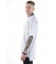 Удлиненная футболка Blank White