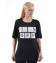 Удлиненная футболка F**K Off