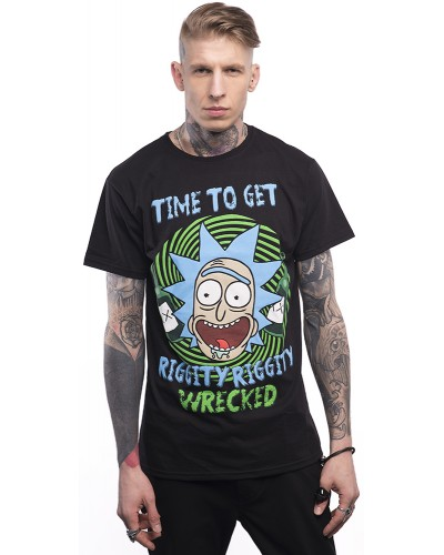 Футболка Rick And Morty Riggity Riggity Wrecked