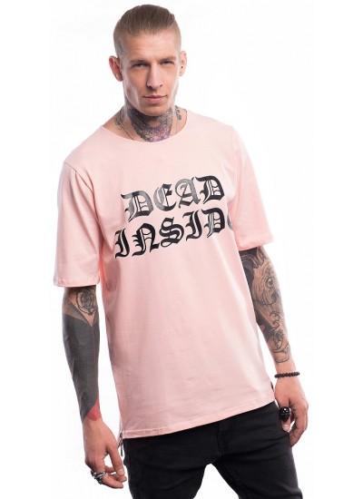 Удлиненная футболка Dead Inside, Powder