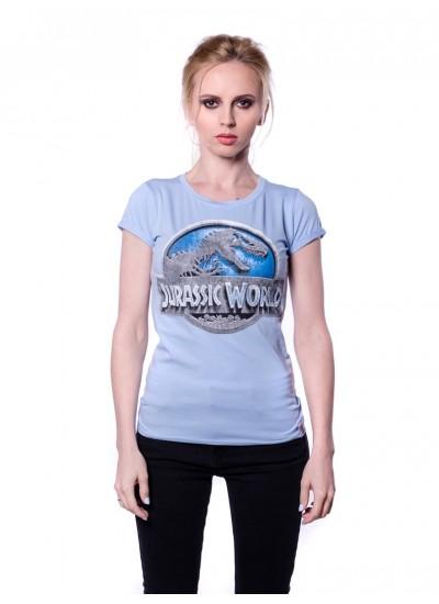 Женская Футболка Парк юрского периода (Jurassic World)