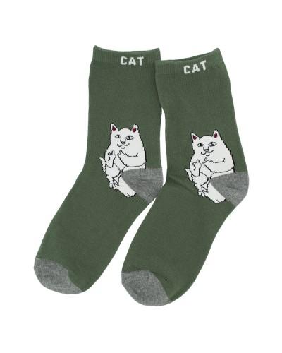 Носки Cat (зеленые)