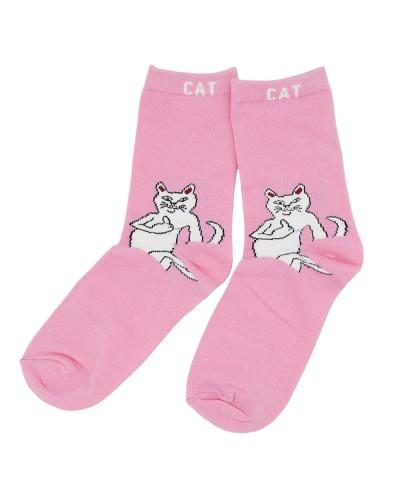Носки Cat (розовые)