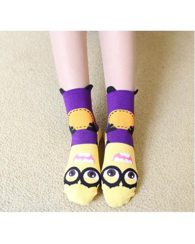 Носки Minions Violet
