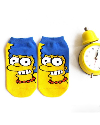 Короткие носки Marge Simpson