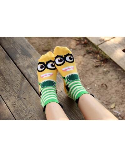 Носки Minions Green Stripes