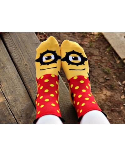Носки Minions Red Dots