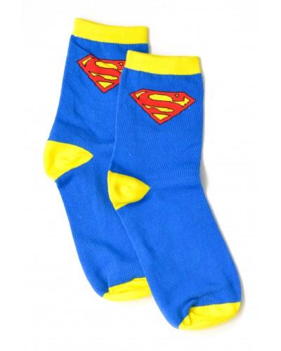 Носки Superman Logo (синие)