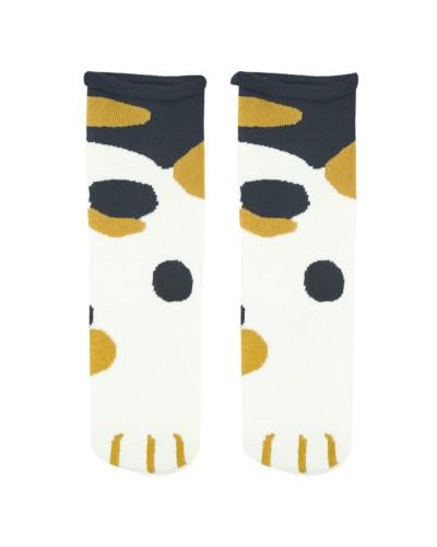 Носки Кошачья лапка (пятнистая)