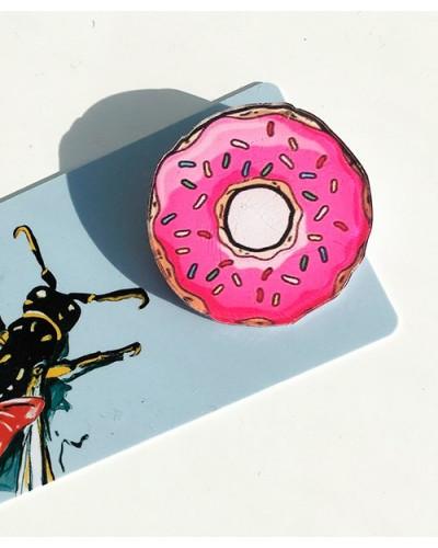 Пластиковый значок Donut