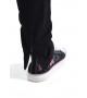 Штаны спортивные с молниями (черные)