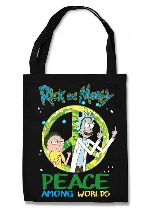 Эко-сумка Rick and Morty Peace among worlds
