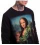Свитшот с коноплей  Mona Lisa