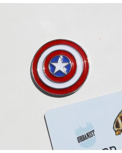 Металлический пин Captain America