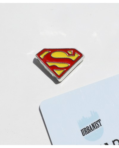 Металлический пин Superman