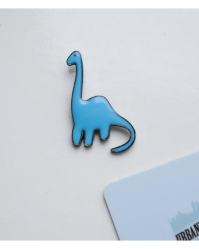 """Металлический пин """"Динозавр"""""""