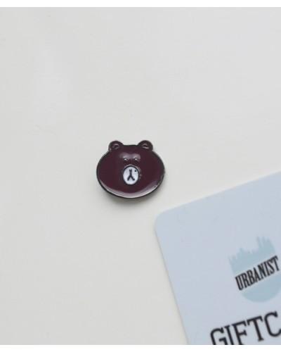 Металлический пин Bear