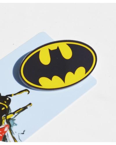 Пластиковый значок Batman