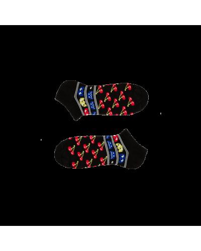 Короткие носки CHERRY RED SHORT
